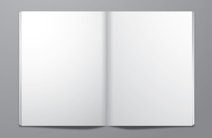 Unrestricted Stock Open Blank Book