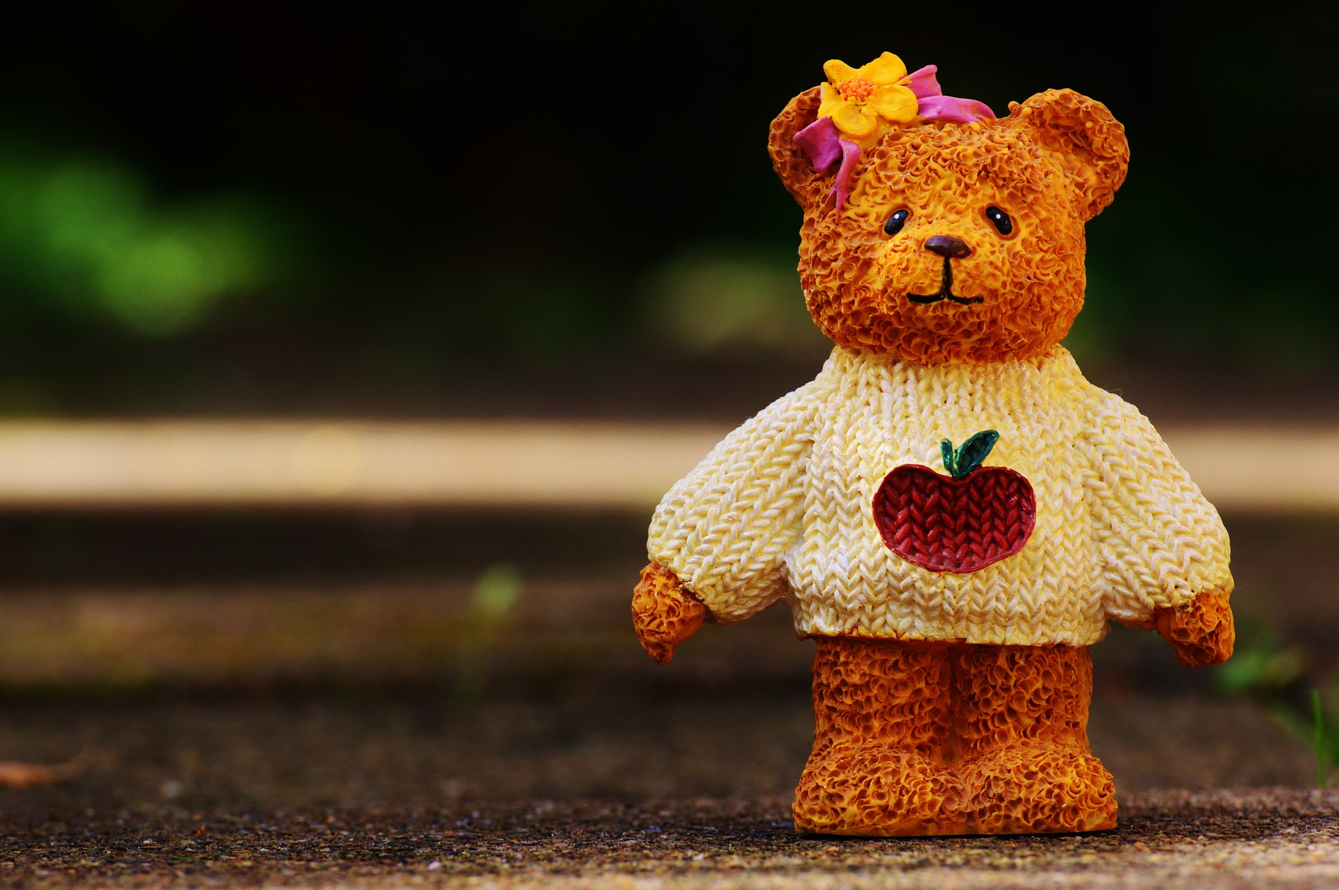 Pixabay Teddy Bear in Sweater