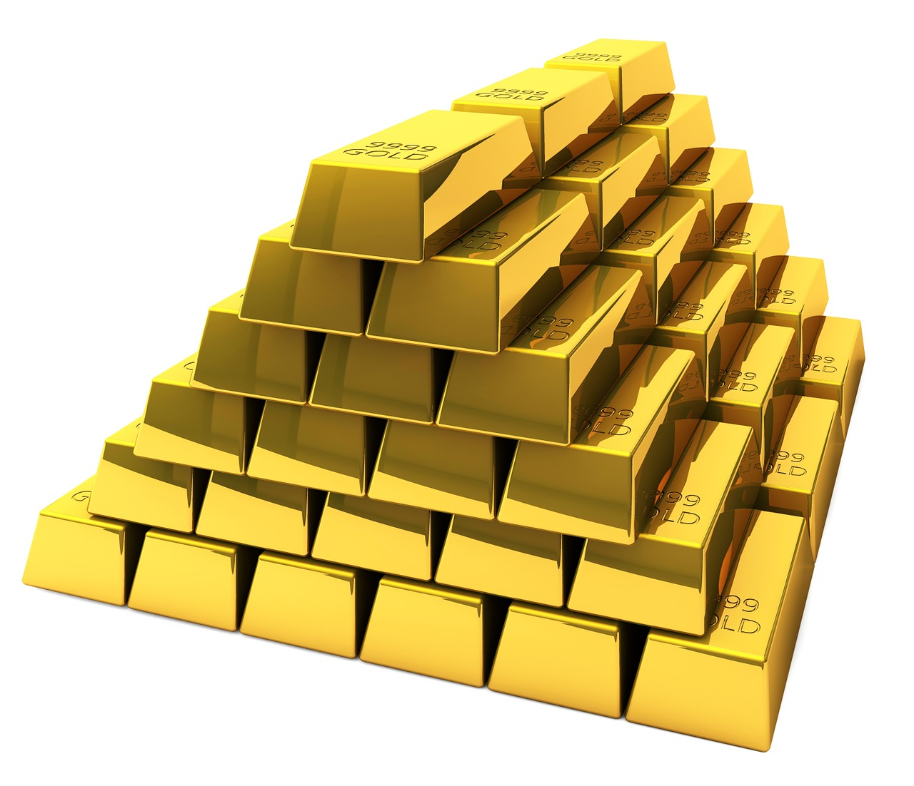 Pixabay Gold Bars